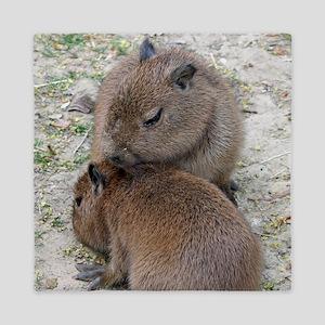 Capybara001 Queen Duvet