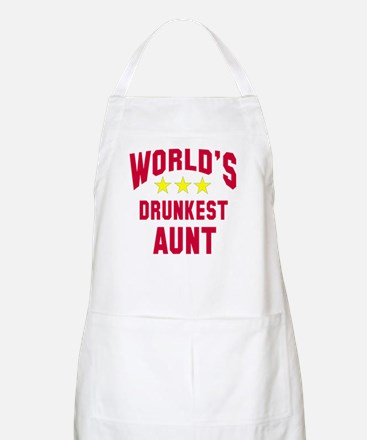 World's Drunkest Aunt Apron