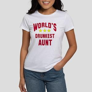 World's Drunkest Aunt Women's T-Shirt