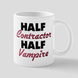 Half Contractor Half Vampire Mugs
