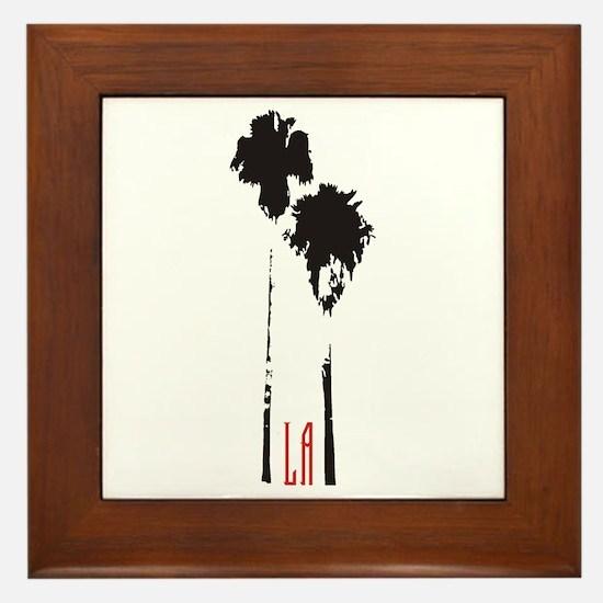 Los Angeles, CA Framed Tile