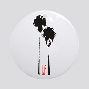 Los Angeles, CA Ornament (Round)