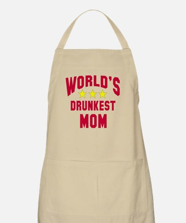 World's Drunkest Mom Apron