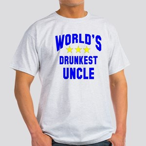 World's Drunkest Uncle Light T-Shirt
