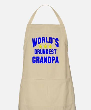 World's Drunkest Grandpa Apron