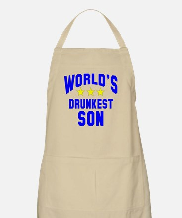World's Drunkest Son Apron