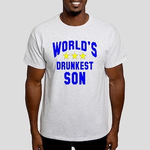 World's Drunkest Son Light T-Shirt