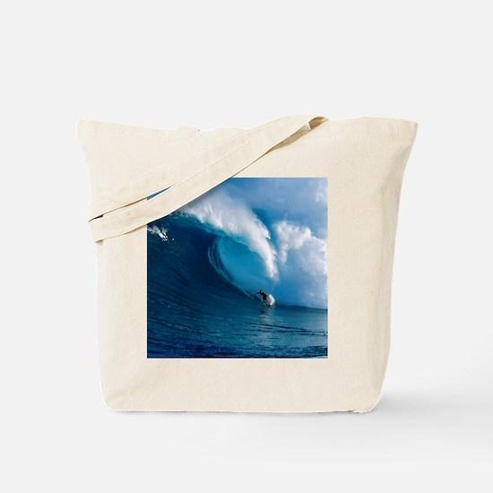 Big Wave Surfing Tote Bag