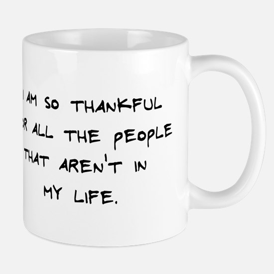 Thankful for people Mug