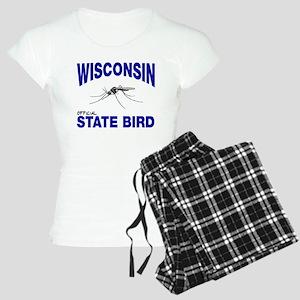 Wisconsin State Bird Women's Light Pajamas