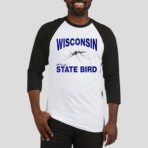 Wisconsin State Bird Baseball Jersey