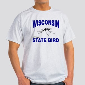 Wisconsin State Bird Light T-Shirt