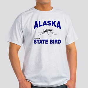 Alaska State Bird Light T-Shirt