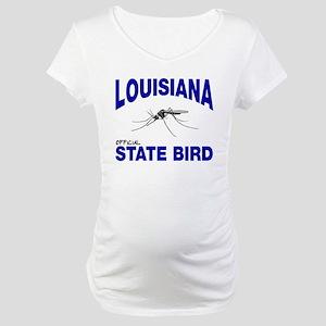 Louisiana State Bird Maternity T-Shirt