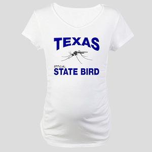 Texas State Bird Maternity T-Shirt