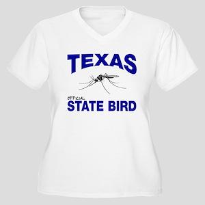 Texas State Bird Women's Plus Size V-Neck T-Shirt