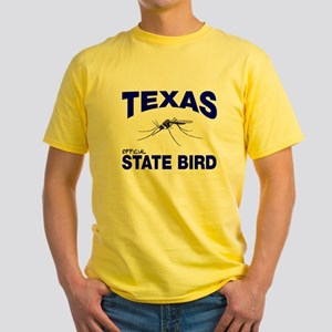 Texas State Bird Yellow T-Shirt