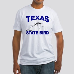 Texas State Bird Fitted T-Shirt