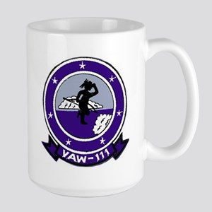 VAW 111 Grey Berets Large Mug
