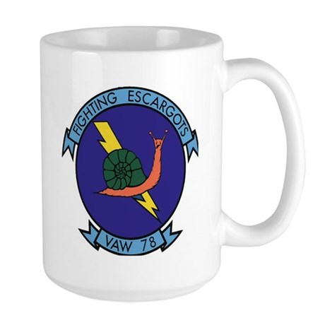 VAW 78 Fighting Escargots Large Mug