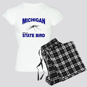 Michigan State Bird Women's Light Pajamas