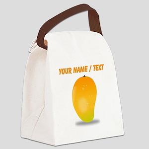 Custom Mango Canvas Lunch Bag