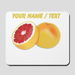 Custom Grapefruit Mousepad