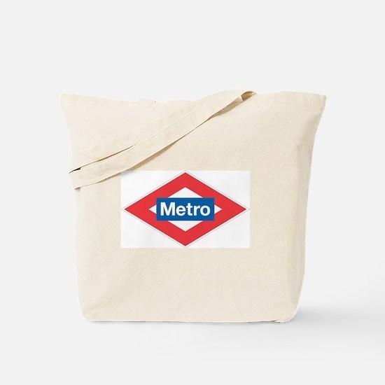 Madrid Metro Tote Bag
