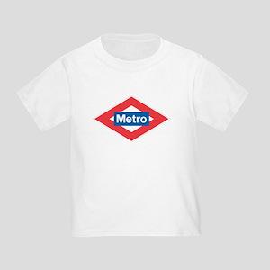 Madrid Metro Toddler T-Shirt
