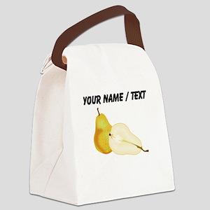 Custom Pears Canvas Lunch Bag