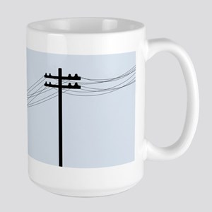 Trip Through Your Wires Large Mug