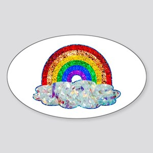 Glitter & Be Gay Sticker