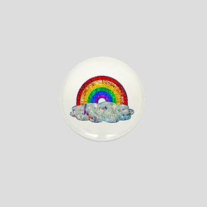 Glitter & Be Gay Mini Button