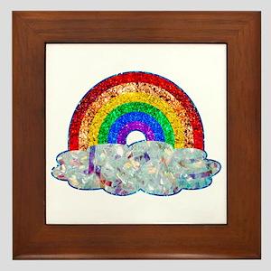 Glitter & Be Gay Framed Tile