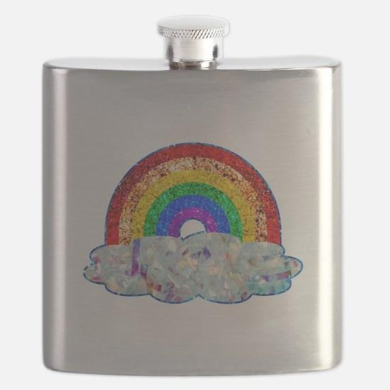 Glitter & Be Gay Flask