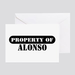 Property of Alonso Greeting Cards (Pk of 10)