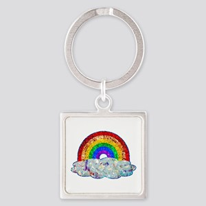 Glitter & Be Gay Keychains