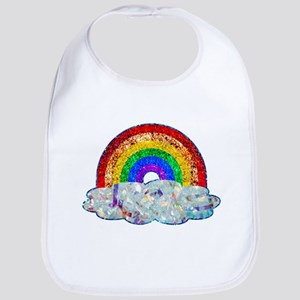 Glitter & Be Gay Baby Bib