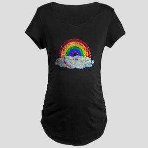 Glitter & Be Gay Maternity T-Shirt