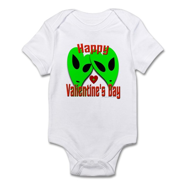 Happy Valientine's Day V1 Infant Bodysuit Baby Light