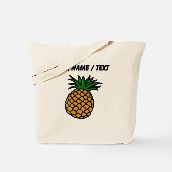 Custom Pineapple Tote Bag