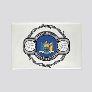 New York Volleyball Rectangle Magnet