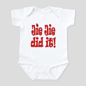 Jie Jie did it Infant Bodysuit