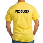 PRODUCER Yellow T-Shirt