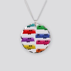Airstream trailers candy colors Necklace