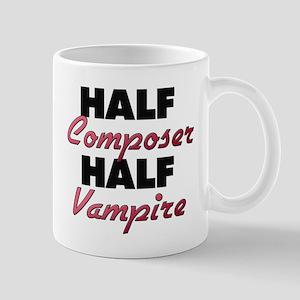 Half Composer Half Vampire Mugs