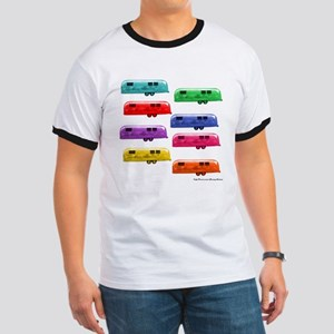 Airstream trailers candy colors T-Shirt