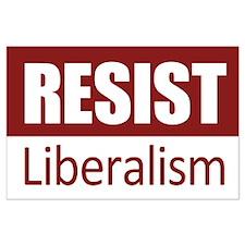 Resist Large Poster