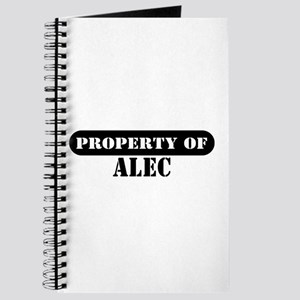 Property of Alec Journal
