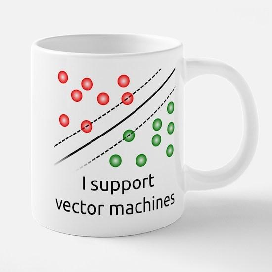I support vector machines Mugs